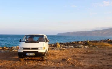VW Camper Rental Portugal – White Westfalia